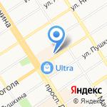 Столица Сумок на карте Барнаула