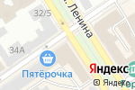 Схема проезда до компании Седьмой континент в Барнауле