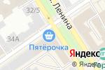 Схема проезда до компании FENIX в Барнауле