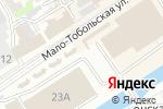 Схема проезда до компании Магазин женской джинсовой одежды в Барнауле