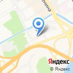 Прана на карте Барнаула