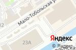 Схема проезда до компании Мебель Уют в Барнауле
