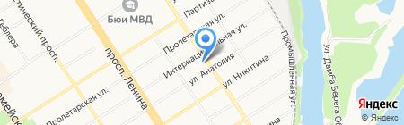 Отдел по охране прав детства Администрации Центрального района на карте Барнаула
