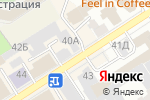Схема проезда до компании Супер шапка в Барнауле