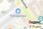 Схема проезда до компании Ай-Линз в Барнауле