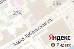 Схема проезда до компании Антилопа в Барнауле