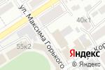 Схема проезда до компании Отделение по Алтайскому краю Сибирского главного управления Центрального банка Российской Федерации в Барнауле