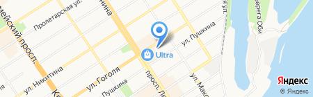 Планета Электрика на карте Барнаула