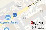Схема проезда до компании Барнаултеплопроект в Барнауле