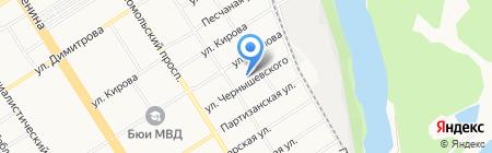 Алтайская краевая общественная организация Всероссийского общества инвалидов на карте Барнаула