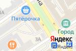 Схема проезда до компании Фонарь22 в Барнауле