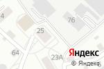 Схема проезда до компании Восточный в Барнауле