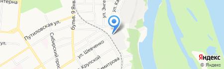 СибирьАгро на карте Барнаула