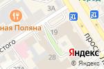 Схема проезда до компании Галант в Барнауле