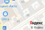 Схема проезда до компании Удачная в Барнауле