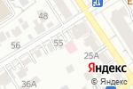 Схема проезда до компании Аско-Мед в Барнауле