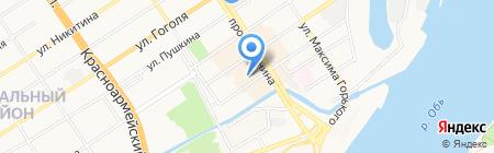Времена года на карте Барнаула