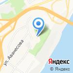 Радио Дача на карте Барнаула