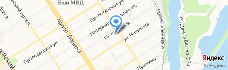 РЕСО-Мед на карте Барнаула