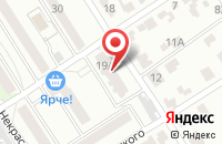 Схема проезда до компании Александрия в Жуковском