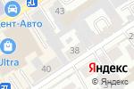 Схема проезда до компании Rock School в Барнауле