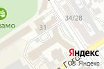 Схема проезда до компании Форум в Барнауле