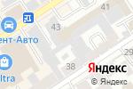 Схема проезда до компании Алтайагропромпусконаладка в Барнауле