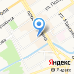 ДжинсыJ на карте Барнаула