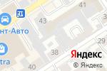 Схема проезда до компании Декор Люкс в Барнауле