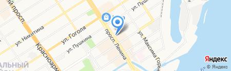 Управление по обеспечению мероприятий в области ГО на карте Барнаула