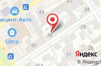 Схема проезда до компании Адель в Барнауле