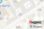 Схема проезда до компании Алтай Окна в Барнауле