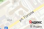 Схема проезда до компании Новострой-Эксперт в Барнауле