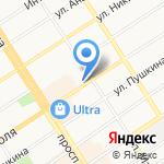 Пушкинская на карте Барнаула