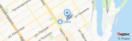 For men на карте Барнаула
