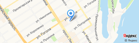 Сatalog на карте Барнаула