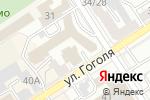 Схема проезда до компании ПромСервис в Барнауле