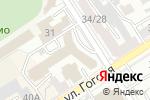 Схема проезда до компании АльфаСтрахование в Барнауле