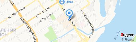 Bolero на карте Барнаула