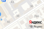 Схема проезда до компании Виктори в Барнауле