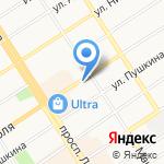 Эликом на карте Барнаула