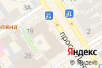 Схема проезда до компании Босс в Барнауле