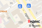 Схема проезда до компании Шарман в Барнауле