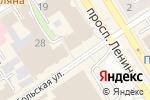 Схема проезда до компании Винтер в Барнауле