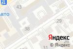 Схема проезда до компании Милослава в Барнауле