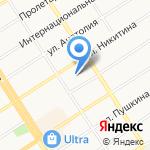 Таурас на карте Барнаула