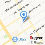 Сибирский институт государственного и муниципального управления на карте Барнаула