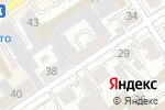 Схема проезда до компании ПрофПринт в Барнауле