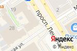 Схема проезда до компании Ариадна в Барнауле