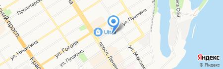 Альтернатива на карте Барнаула